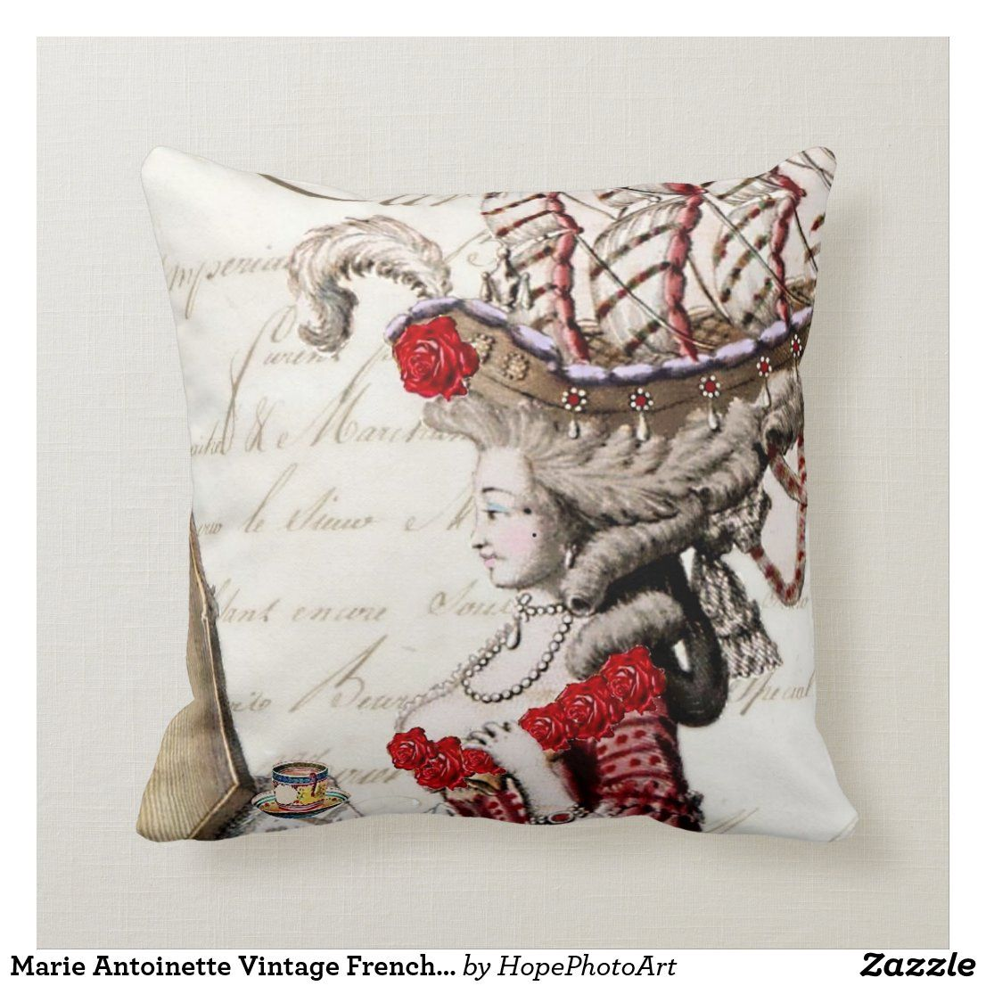 Pin Na Doshci Vintage Antique French Pillow