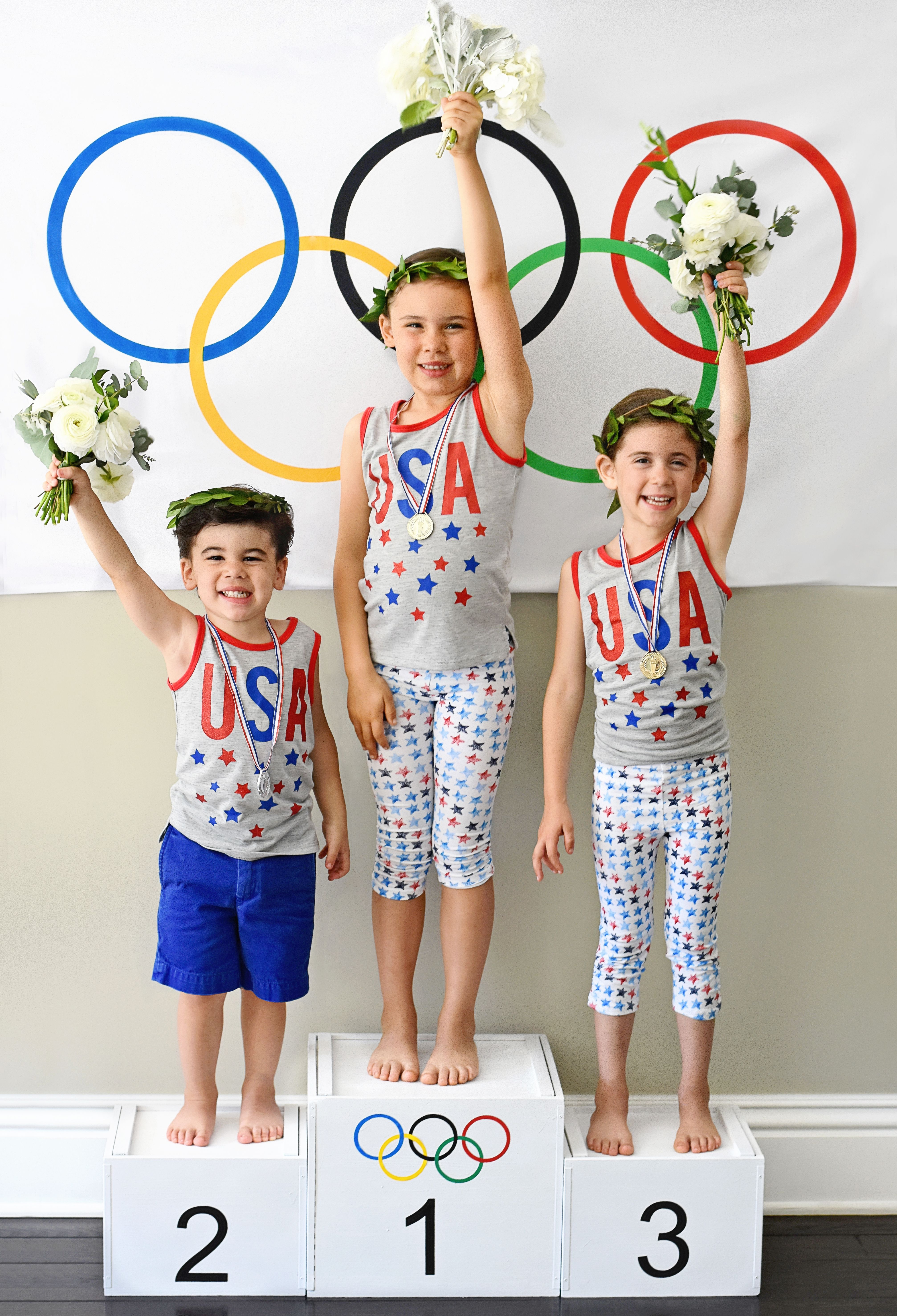 printable olympic games birthday invitation kids birthday party