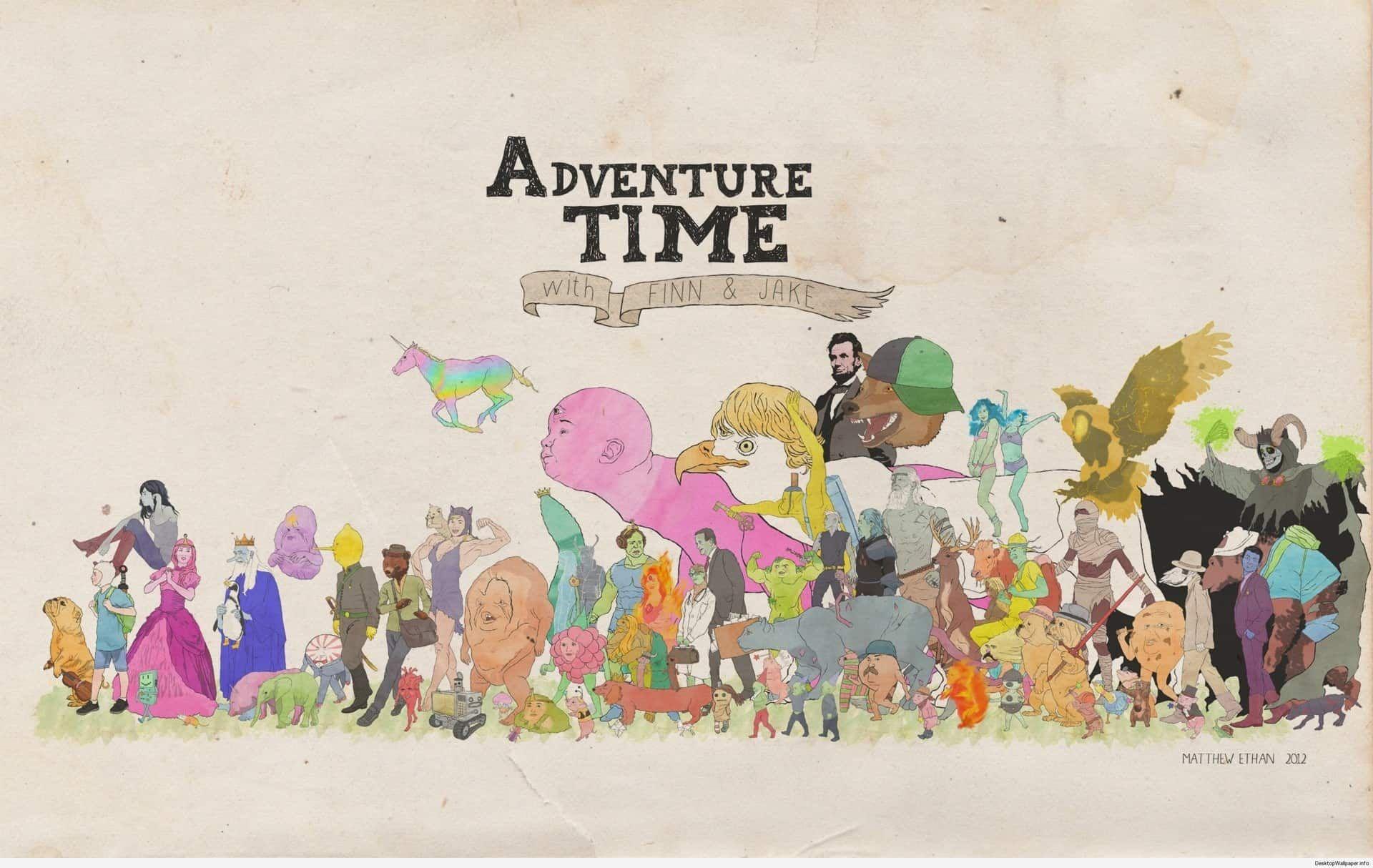 Adventure Time Wallpaper 4k Http Desktopwallpaper Info Adventure Time Wallpaper 4k 6478 Adventure Time Wallpaper Adventure Time Poster Adventure Time Anime