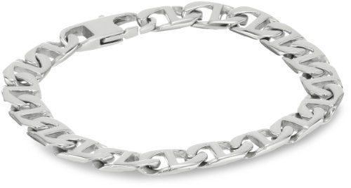 """Men's Stainless Steel Marine Link Bracelet, 9"""" Amazon Curated Collection. $15.99. Stainless Steel creates a modern jewelry look.. Made in China"""