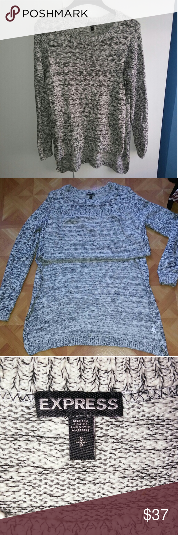 fbed3fa727d5eb 👌Slide split long knit sweater Show your chic and stylish style with this  unique knitted