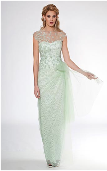 Mint green lace Teri Jon evening gown Style #36017 1200.00 | Mother ...