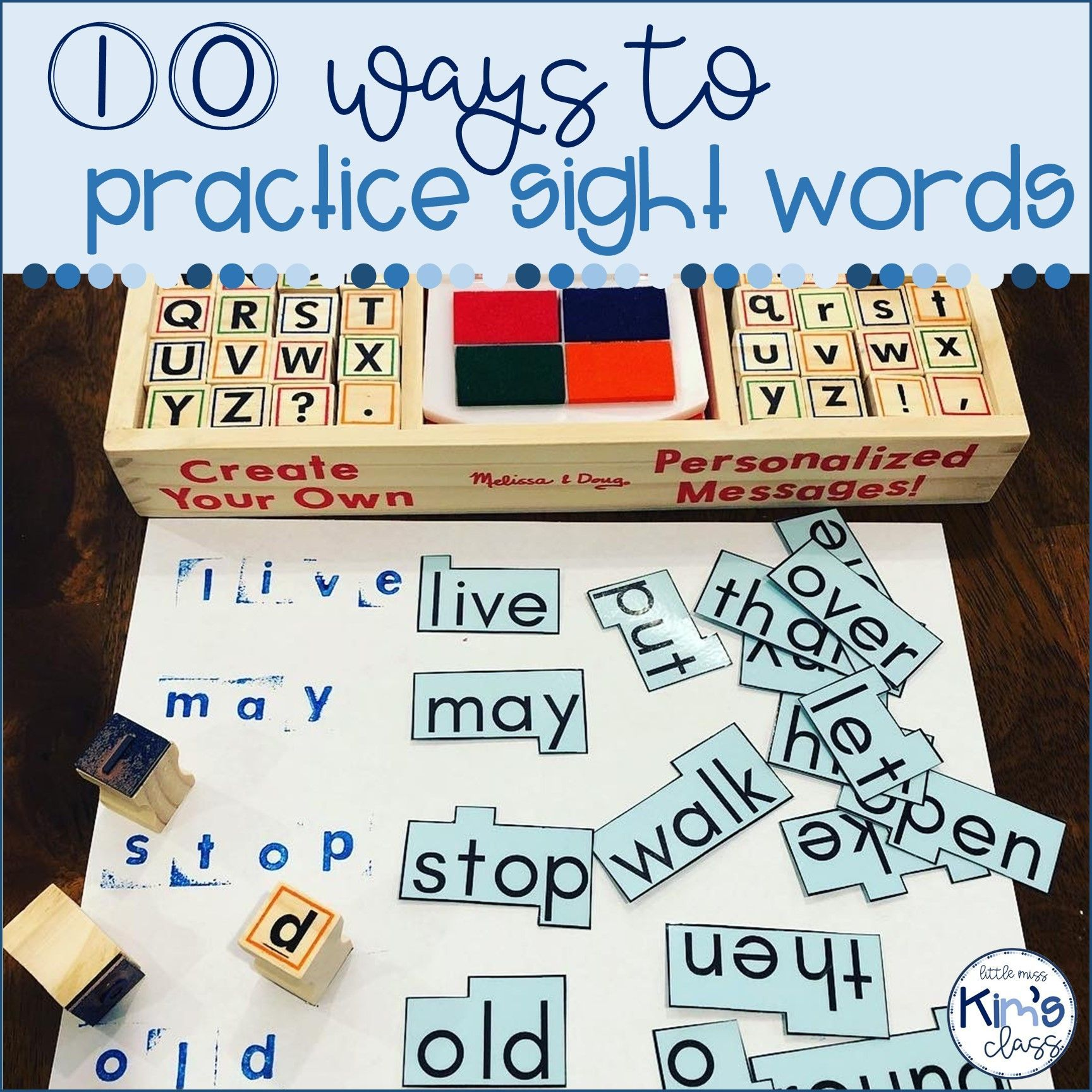 Ideas For Sight Word Practice