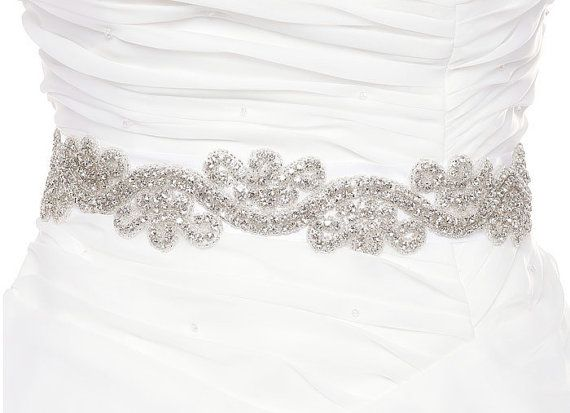 Photo of Belts for wedding dresses