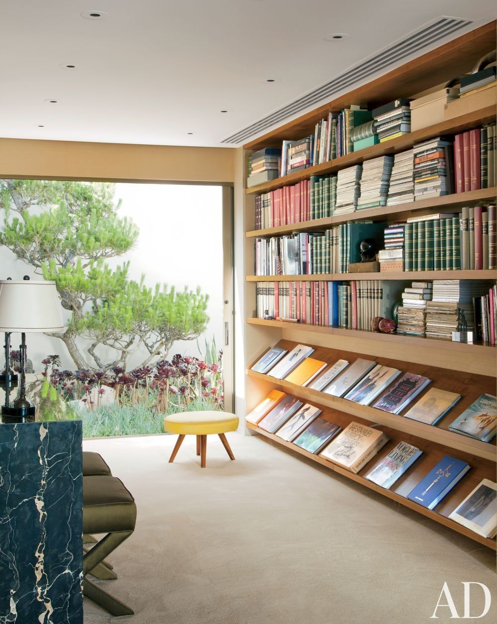 Contemporary Home Library Design: Contemporary Office/Library By Brad Dunning And Marmol