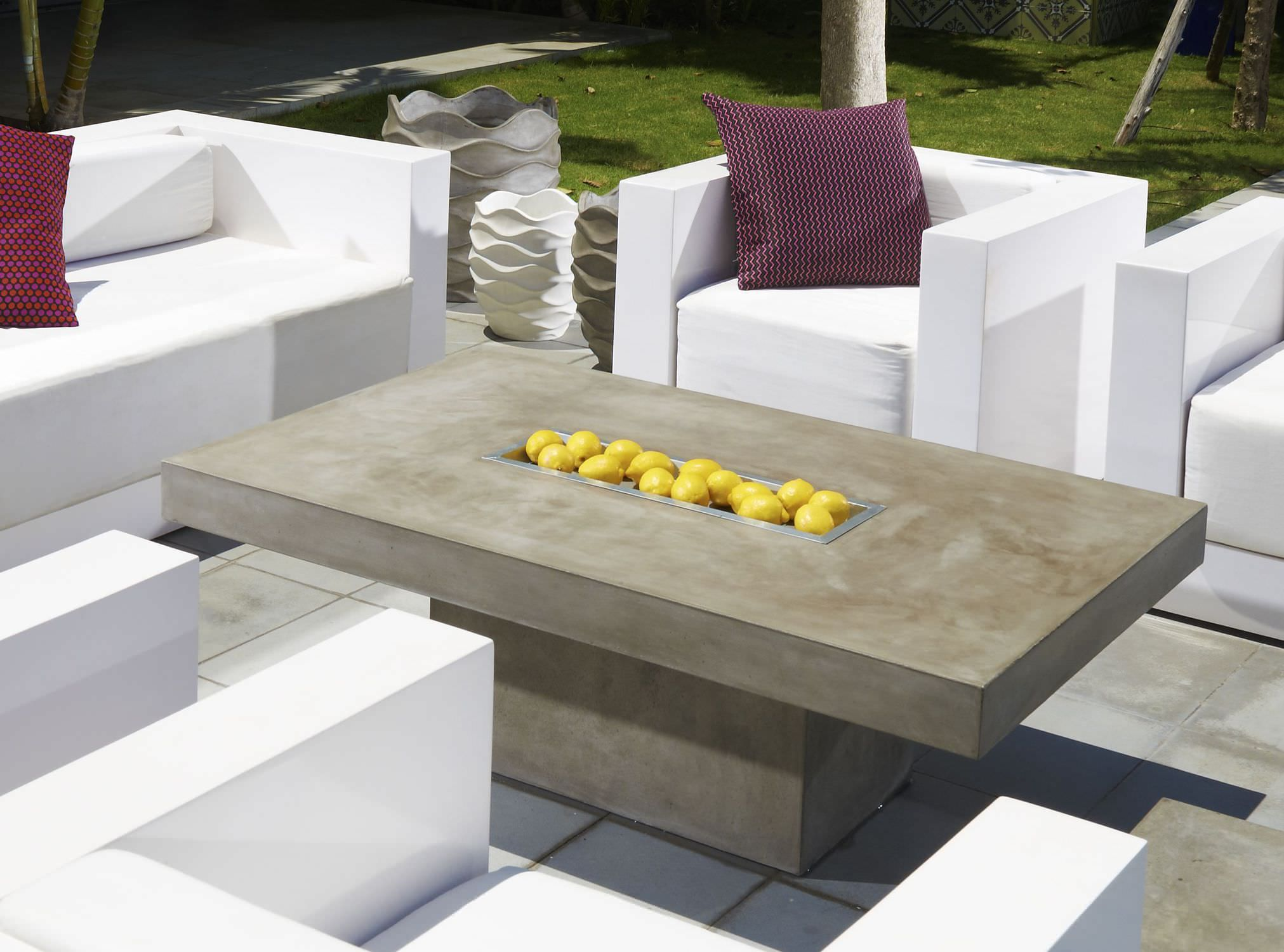 Discover All The Information About The Product Contemporary Coffee Table /  Concrete / Rectangular ALTO   Saveri Singapore Pte.