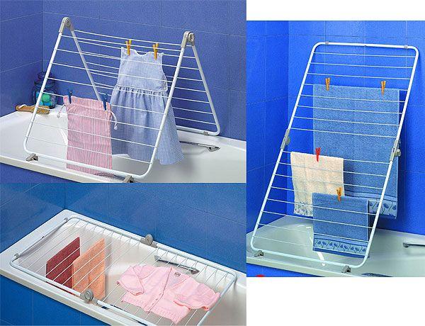 Tendedero ba o lavander a pinterest tendedero - Tendedero ropa plegable ...