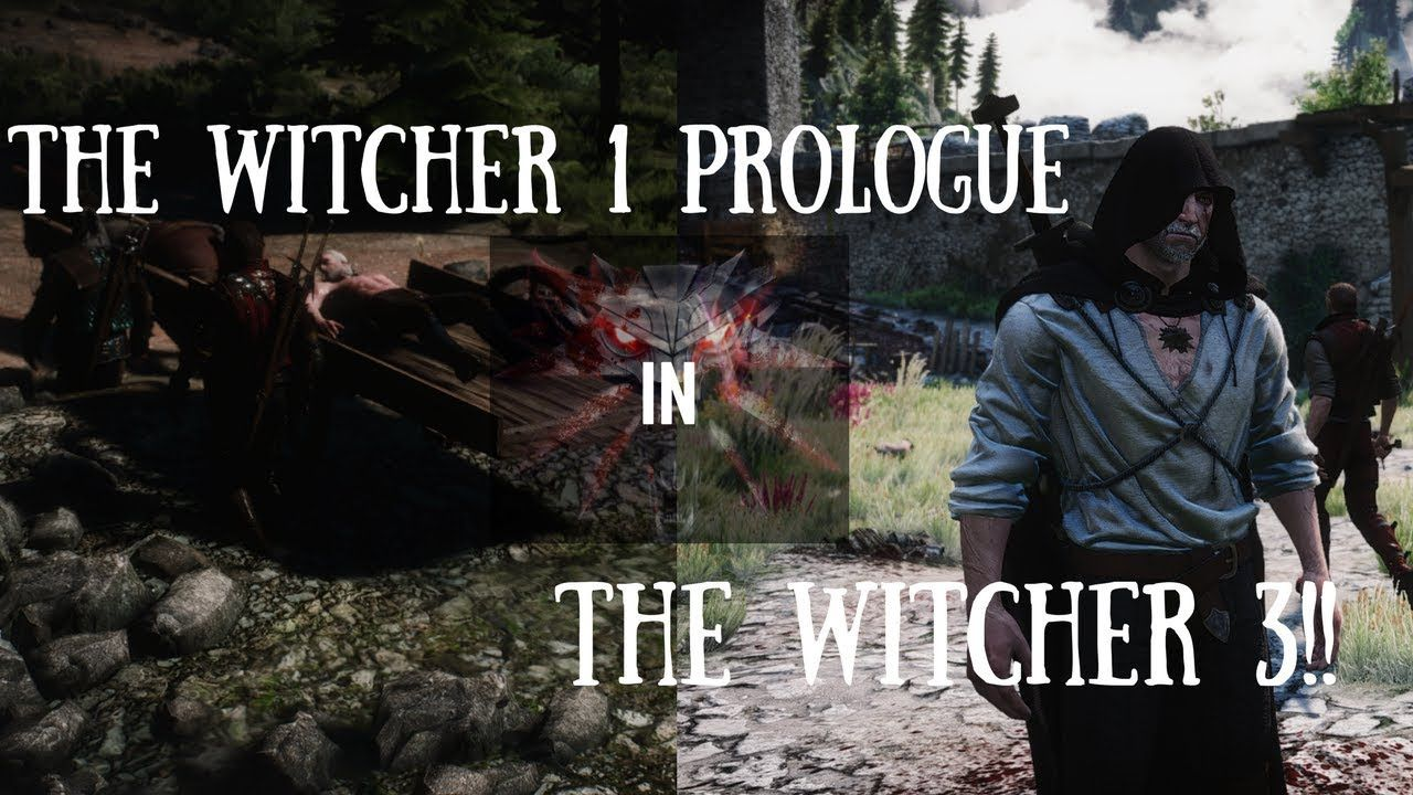 The Witcher 1 Prologue Remastered in The Witcher 3 (With Other
