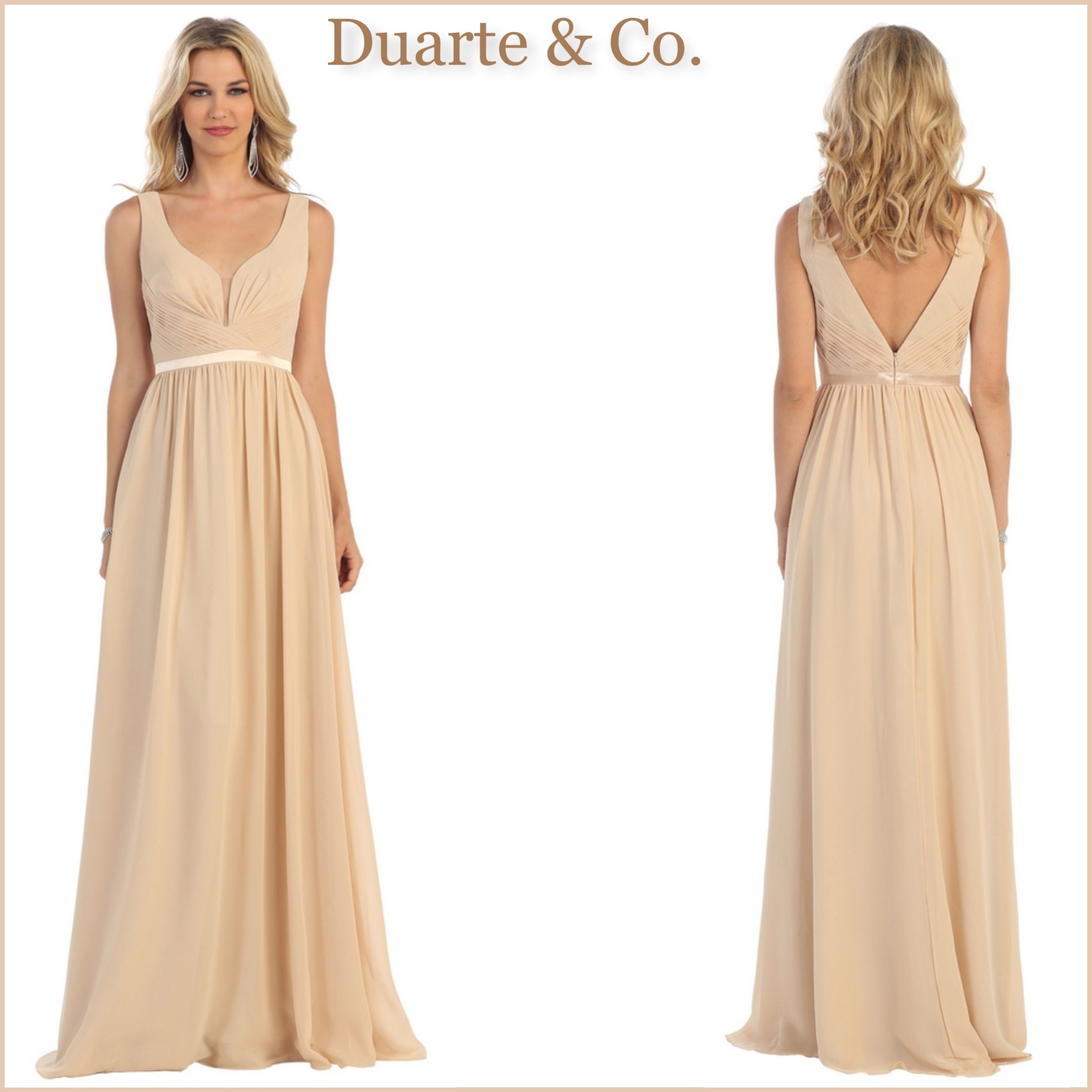 MQ1225  106.00 Chiffon Bridesmaids Dress W Plus Sizes Comes in 16 colors  Available in plus sizes 4 to size 20. 08c0116c2