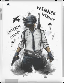 Winner Winner Chicken Dinner Pubg Design Ipad Snap Case by Creative-DUDE