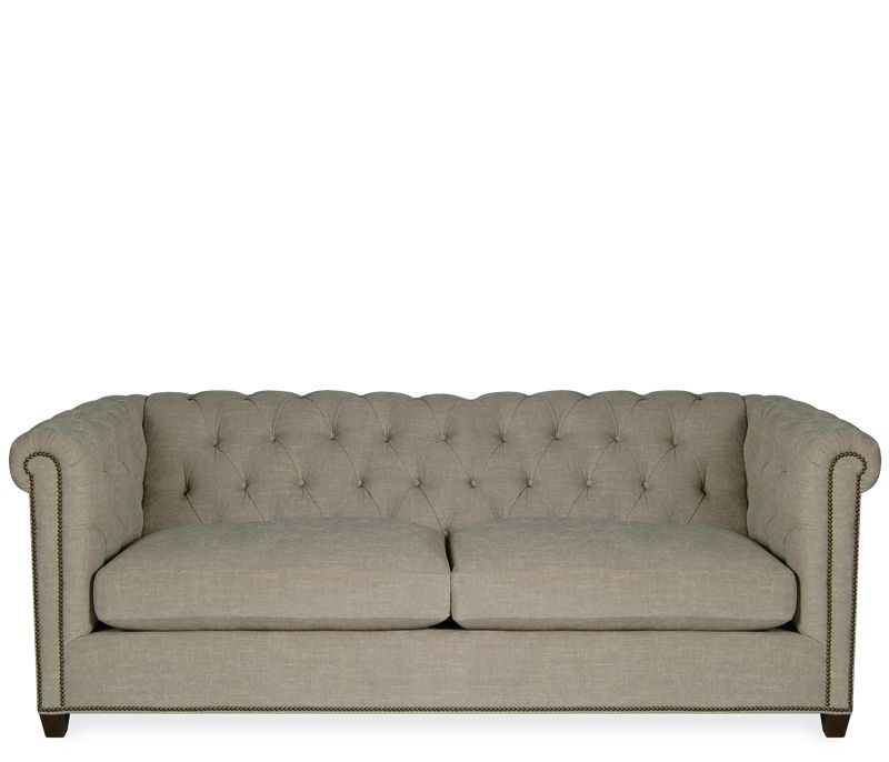 Wilmington Sofa A Classic Chesterfield With Its Pleated Roll