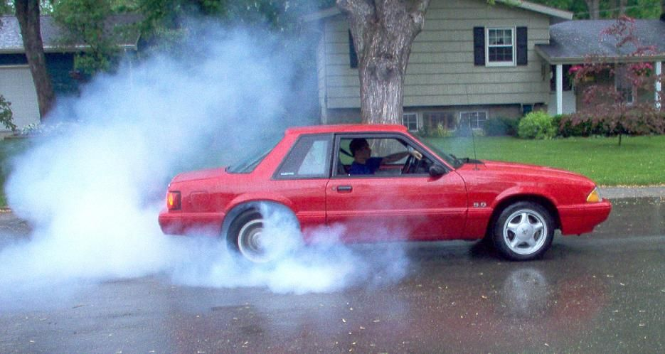 1992 Mustang LX 50 notchback Its a highly hoonable sleeper