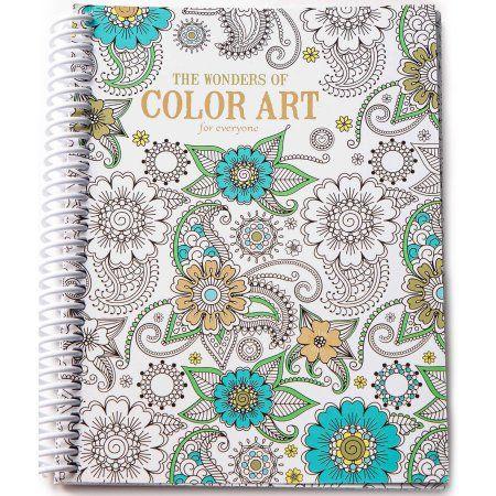 Leisure Arts Inc Wonders Of Color Art Colorful Art Coloring Books Spiral Art