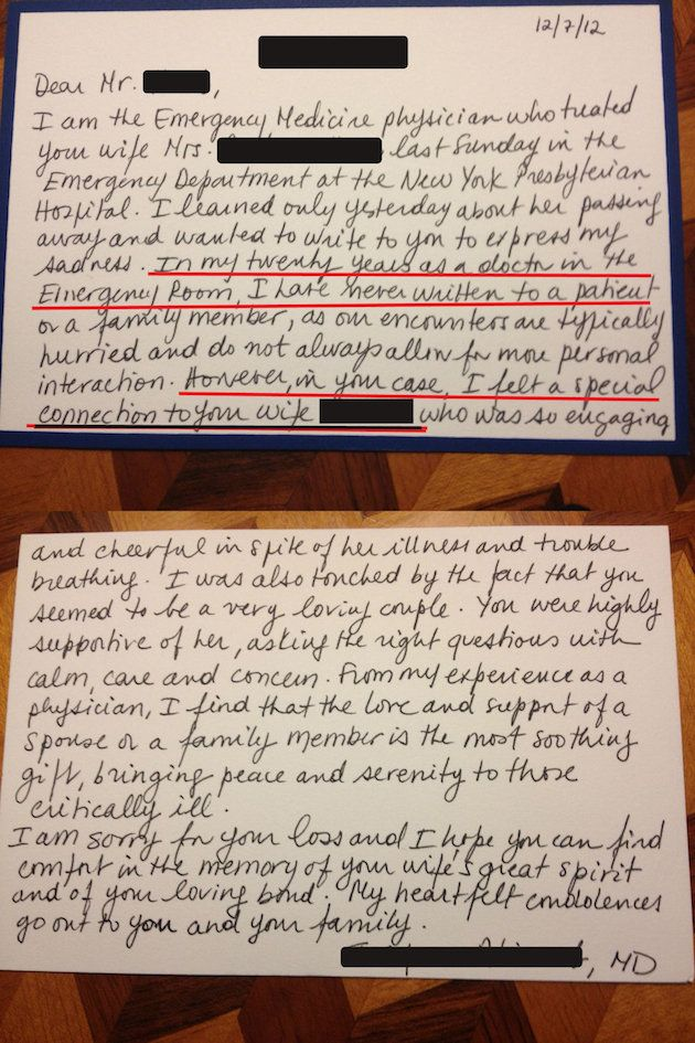 Personal Note From ER Doctor Written After Woman S Death Goes Viral