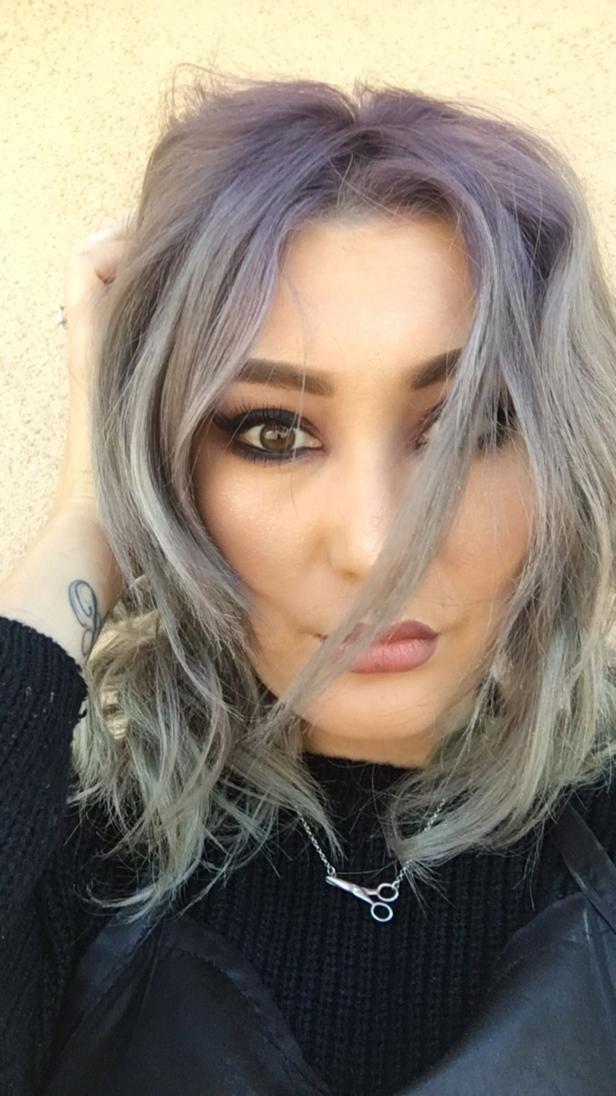Grey Hair Pastelhair Silvergreyhair Guytang Silverhair