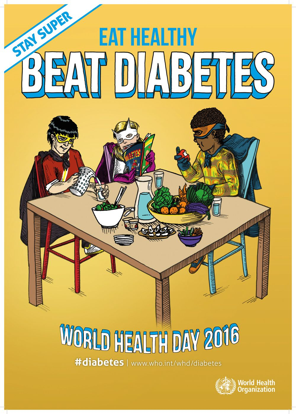 World Heath Day 2016 Diabetes Healthstandards Who
