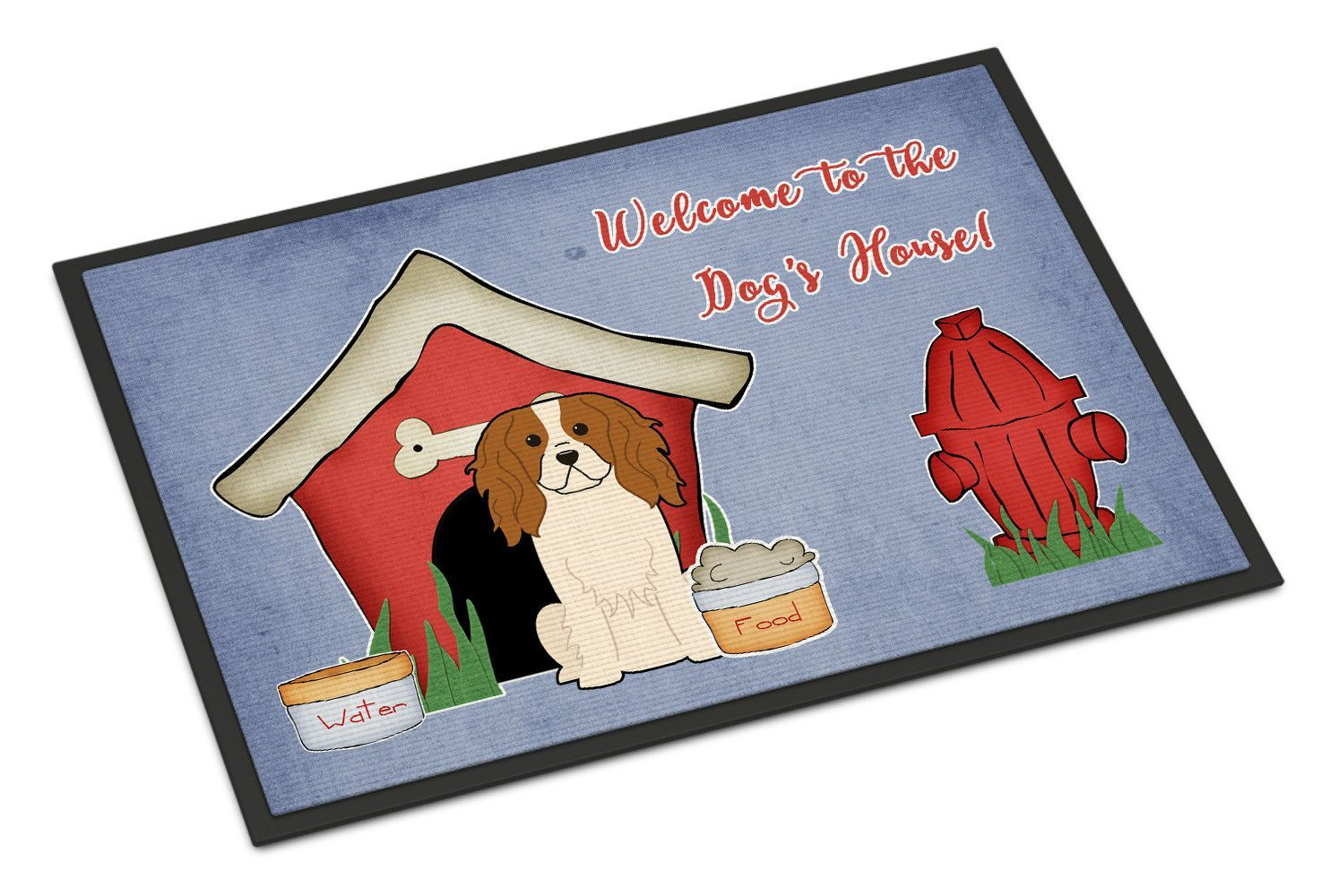 Dog House Collection Cavalier Spaniel Indoor or Outdoor Mat 24x36 BB2812JMAT