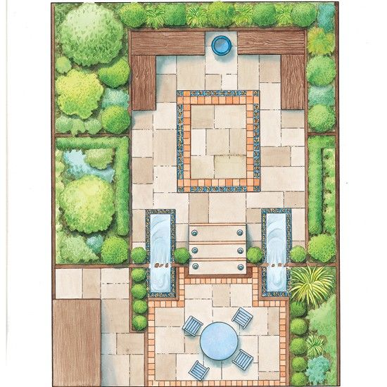 Problem Soliving Small Garden Design Layouts Landscape Layouts