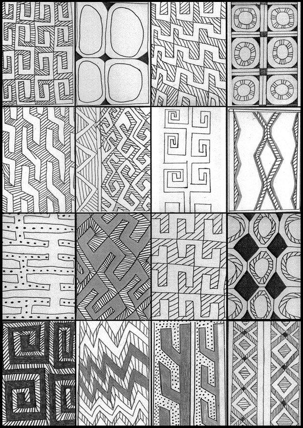 Desenhos Tradicionais Dos Indios Karaja Chegam Ao Jardim Botanico