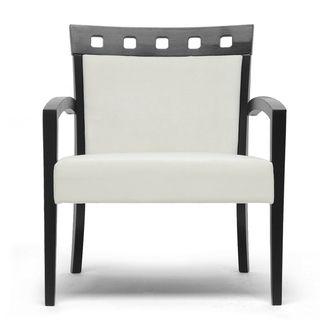 for desk? Carmela Dark Brown Modern Accent Chair