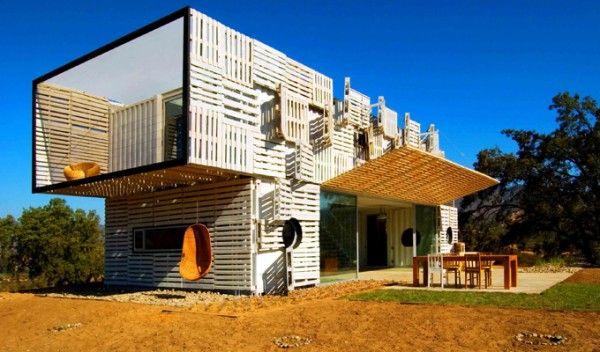 Casa manifesto recycled shipping container house chile - Casa materiales de construccion ...