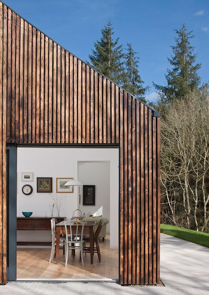 Touch Wood A449 Architects Convert A 1930s Scottish
