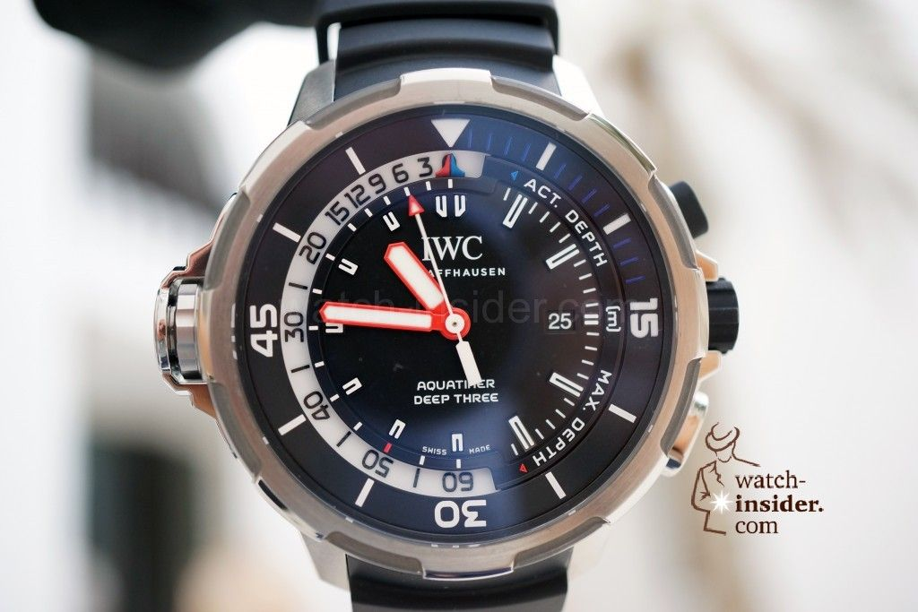 IWC Aquatimer Deep Three (new for SIHH 2014)