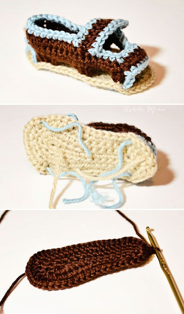 pull all the ends through the base and add a second sole | knitting ...
