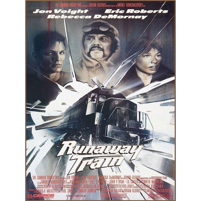 Runaway Train 1985 Brrip Micro 1080p 3 82 Gb Audio Ingles Esp Latino Esp Espana Train Movie Runaway Train Movie Posters