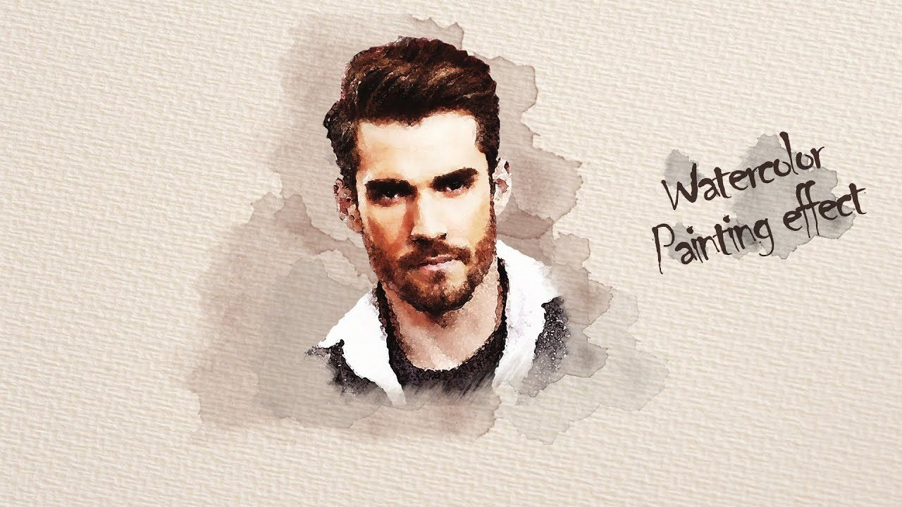 How To Make An Amazing Watercolor Painting Effect On Photoshop Tuto