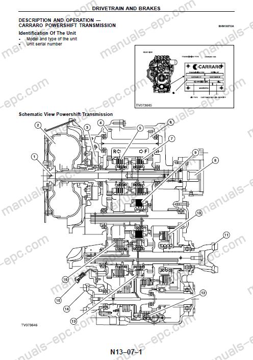 fermec terex workshop service manual repair for 820 860 endroits rh pinterest ie Terex Parts Terex Dozer