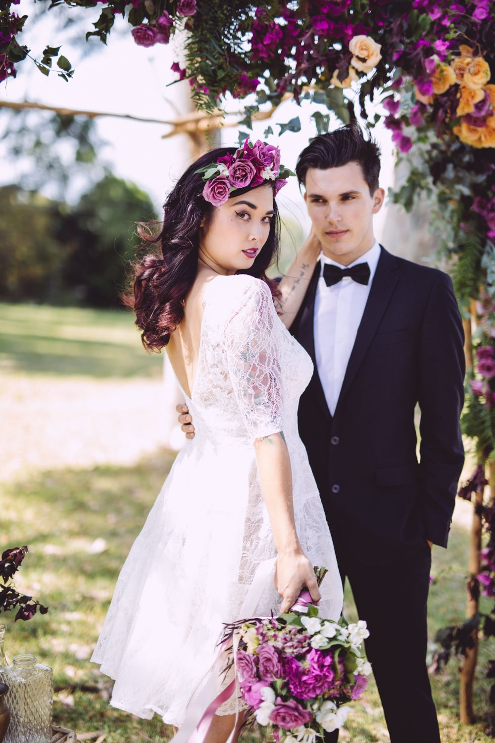 Pin By Two Hearts Club On Two Hearts Club Wild Roses Flower Crown Wedding Flower Girl Dresses Wedding