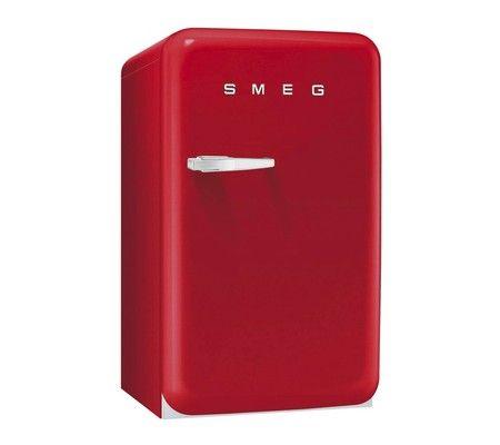 SMEG FAB10HRR Frittstående kjøleskap