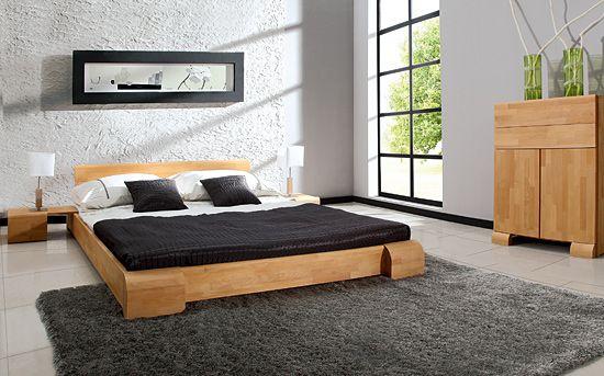 Einzelbett und Doppelbett Arrondo Nützliches Pinterest - schlafzimmer holz massiv