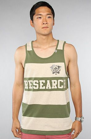 The Elite Fleet Tank Top in Olive by LRG Get 20% off with use of repcode: PLNDR11