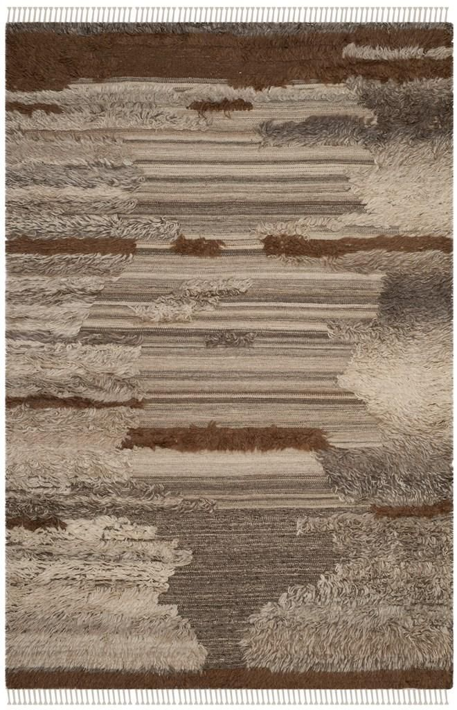Rug Kny225a Kenya Area Rugs By Brown Area Rugs Area Rugs Brown And Grey