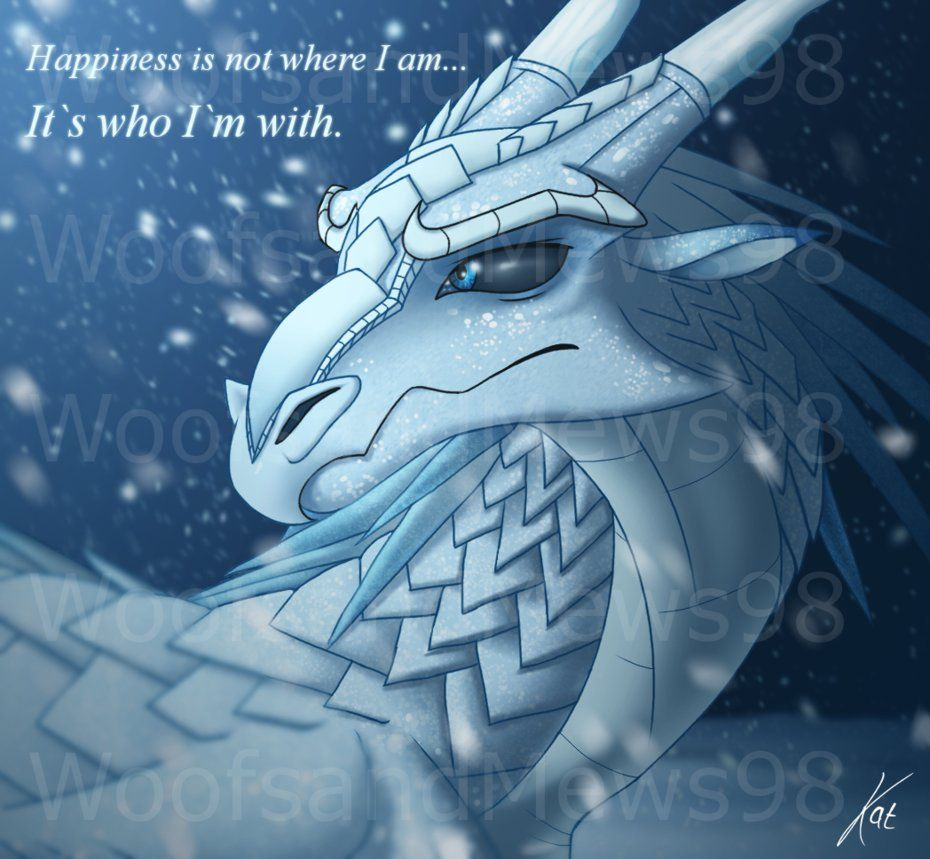 Wings Of Fire Prince Winter By Woofsandmews98 On Deviantart