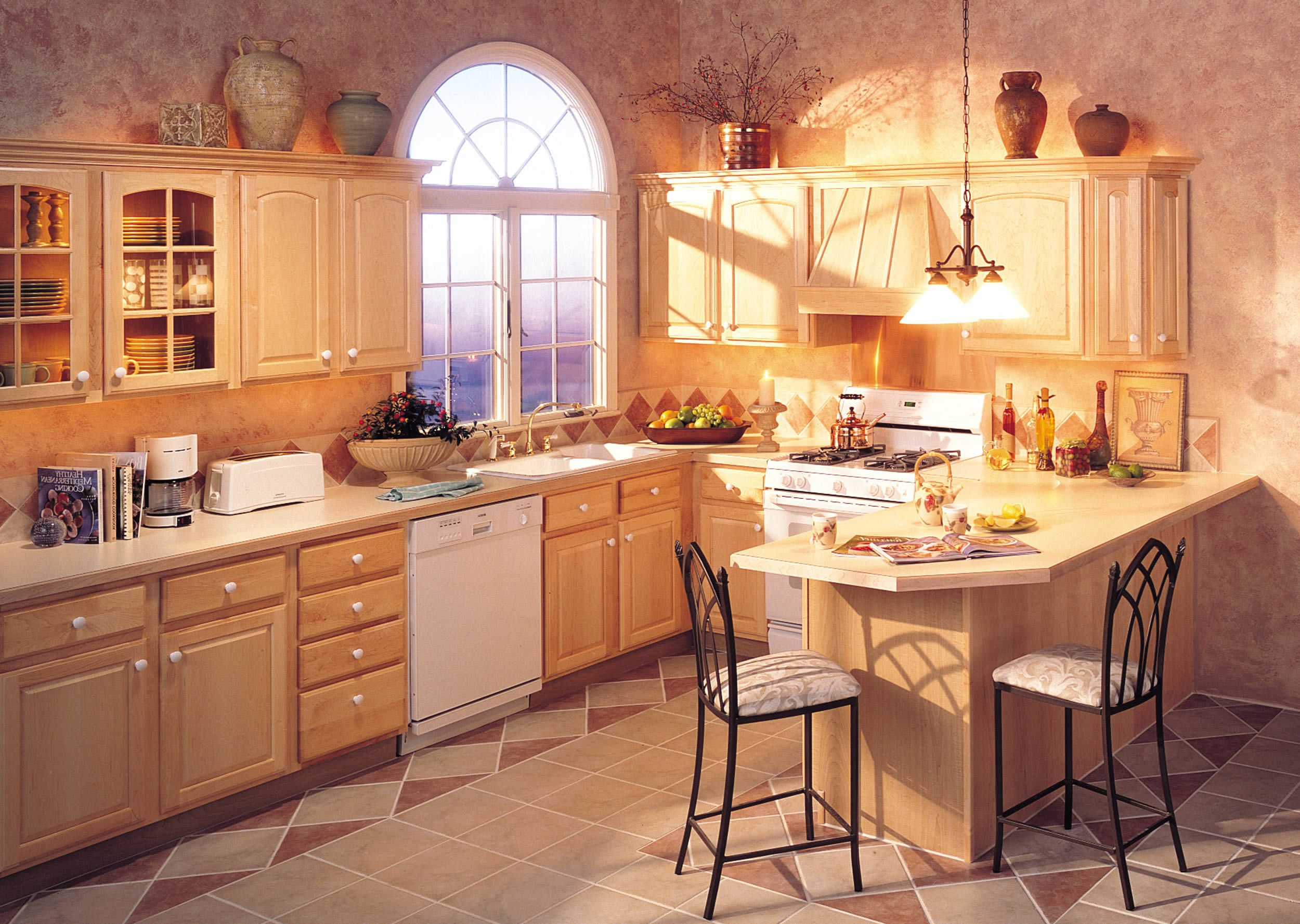 one of many design ideas for your kitchen from merillat cabinets
