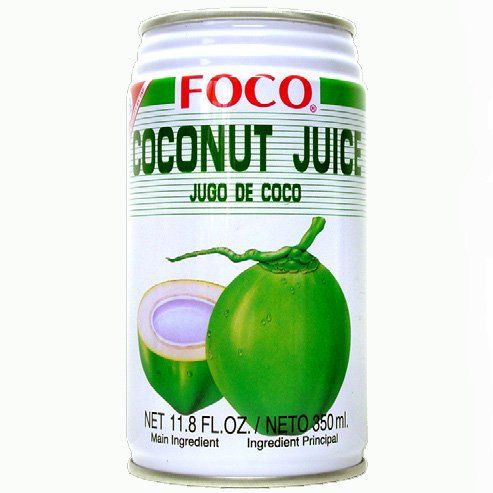 Twelve pack of Foco Coconut Juice Drink 11.8 Oz - 350 ml Cans >>> You can get more details by clicking on the image.