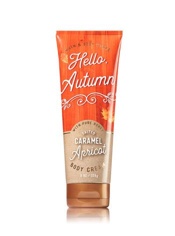 Signature Collection Salted Caramel Apricot Body Cream Bath And Body Works Bath And Body Works Bath N Body Works Body Cream