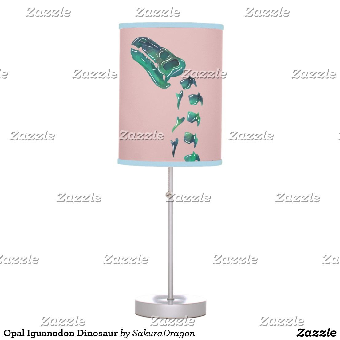 Opal Iguanodon Dinosaur Table Lamp | | Lamp