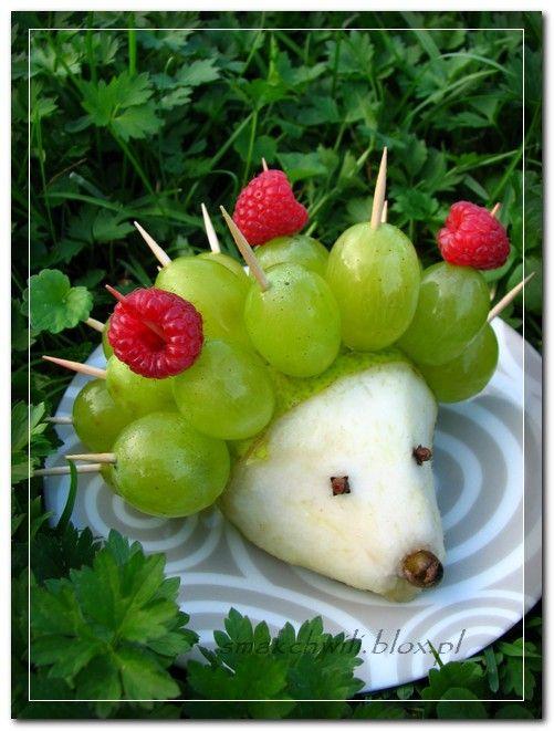 Owocowy jeż -- ty go zjesz, ty go zjesz! ;)