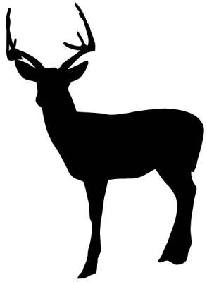 Deer Shape Free Vector Animals Vectors Free Vectors Stock Free Vector Design Deer Silhouette Canvas Deer Silhouette Printable Deer Silhouette