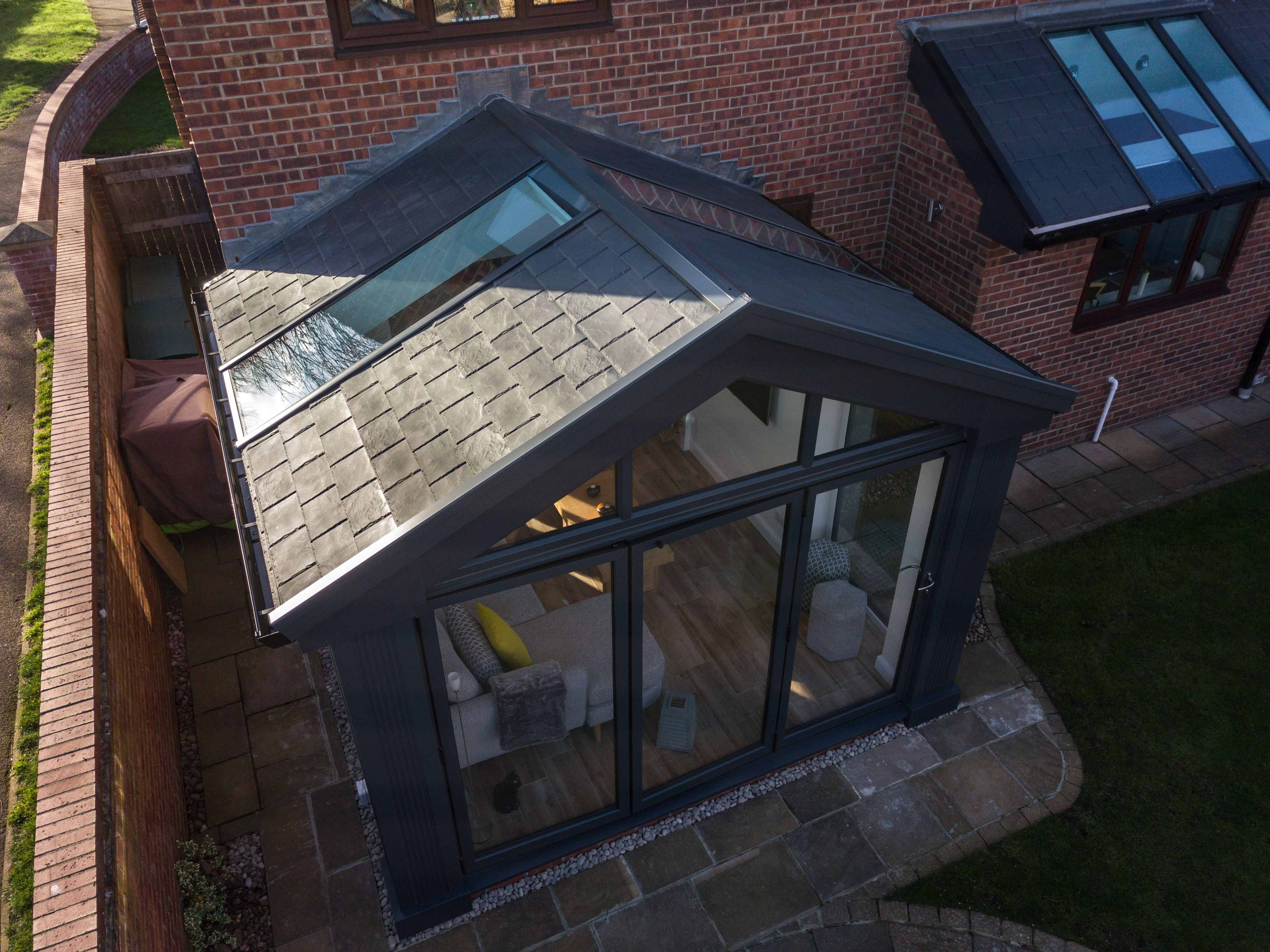 Tiled Conservatory Roof Ultraroof Conservatory Uk Conservatory Roof Tiled Conservatory Roof Garden Room Extensions