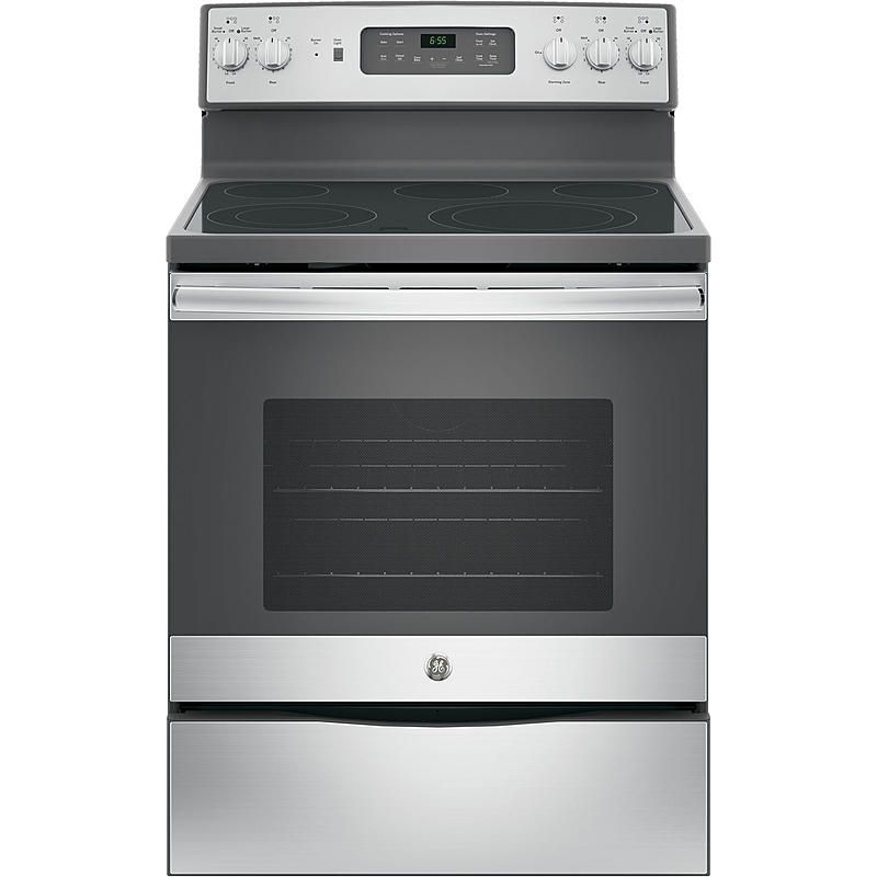 """GE Appliances - JB655SKSS - 30"""" Freestanding Electric Range - Stainless Steel 