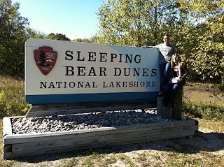 A Wine & Fall Colors Tour around Sleeping Bear Dunes in Michigan, voted most beautiful place in America