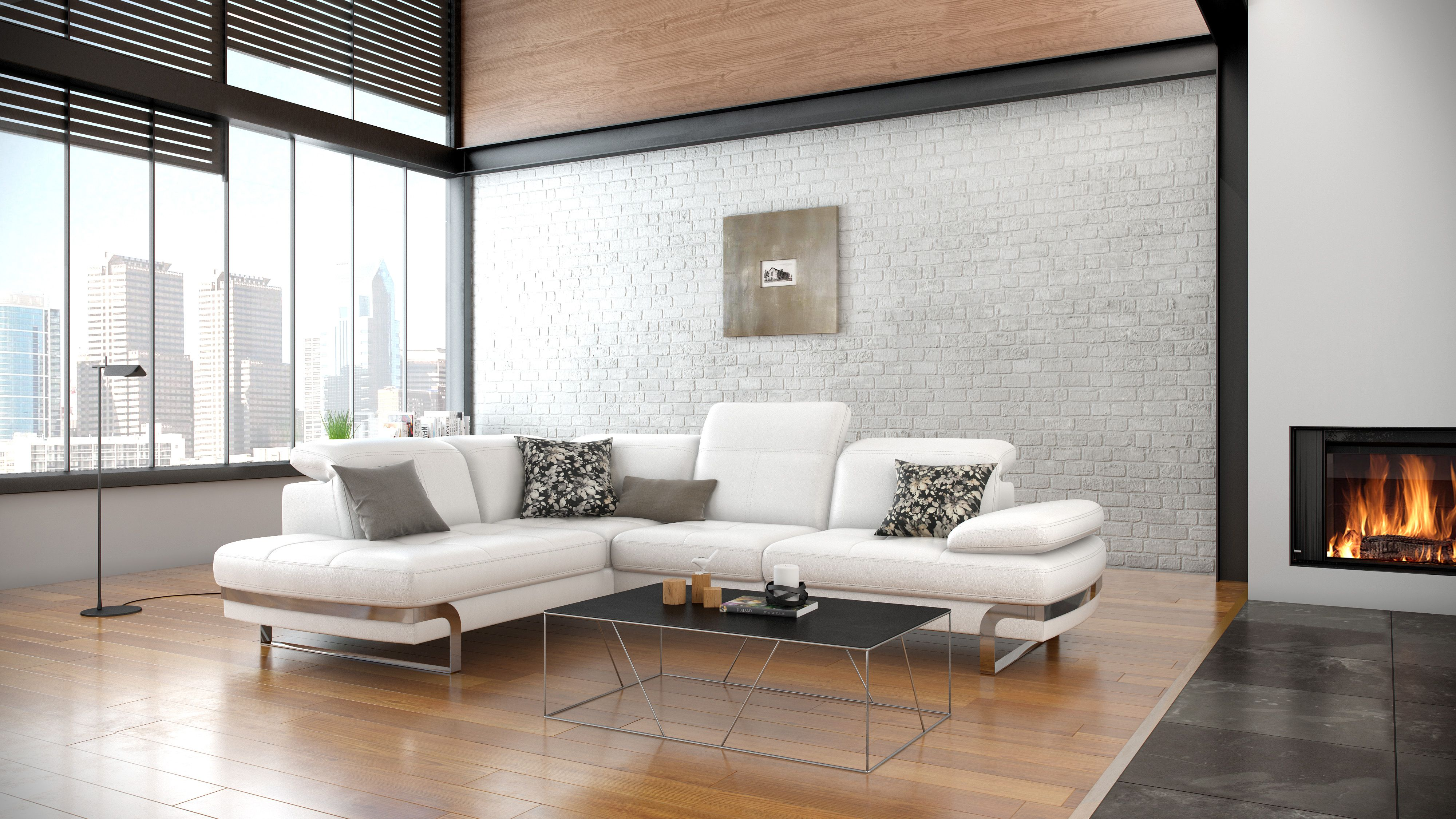 Create a contemporary look in homes with sophisticated seating ...
