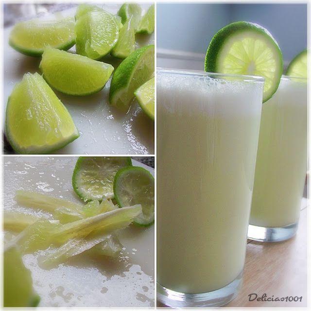 Aproveite o verão e ajude a refrescar o 'corpitcho', algo necessário e vital! Preparei essa limonada suíça, muito popular em lanchonetes e restaurantes, deliciosa e que mata a sede inst…