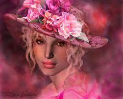 rose - hat