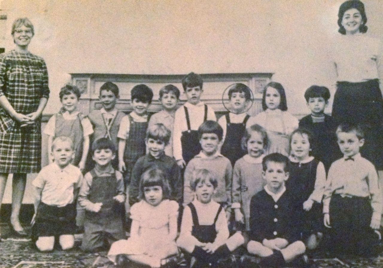 cw21dlr: John (circled, back row). An early class pic.
